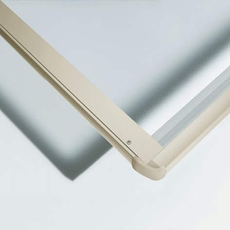 ↑スタンダードカーポートグランシリーズ共通 屋根ふき材:ポリカ (トーメイマット 見下ろし H2_H2:プラチナステン_XCXX0374