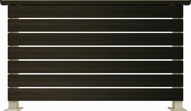 ↑ルシアス デッキフェンスA01型(横板格子 12用T80_商品単体外観_XGH20540W6