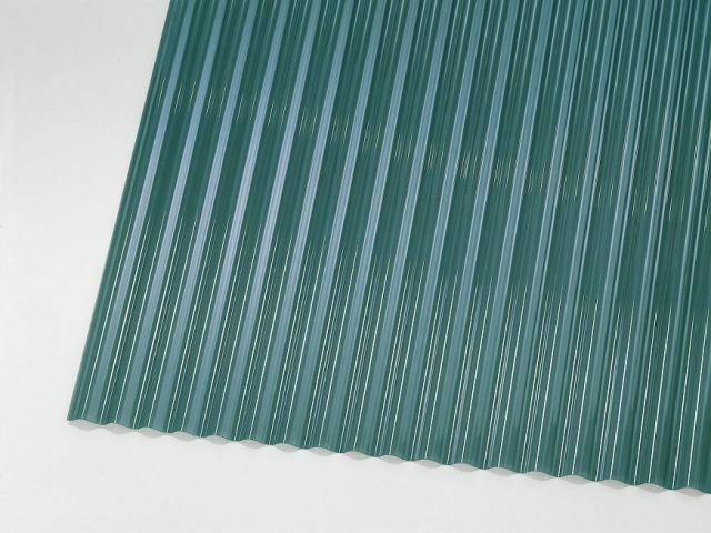 ↑ジーポートneo サイドパネル用波板パネル材(市販品 グレースモーク__XCXX0499