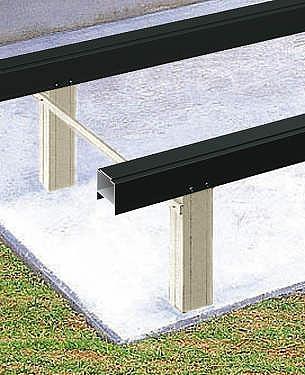 ↑リウッドデッキ 200 束柱 固定柱 H2 :XGXX0024H2