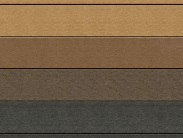 ↑リウッドデッキ 200 4色イメージ(FD/ID/FF/FE) 4色イメージ(FD:ホワイトブラウン/ID:ナチュラルブラウン/FF:レッドブラウン/FE:ウォームグレイ):XGZ