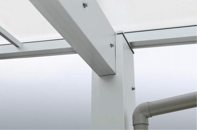 ↑エフルージュ 柱と梁の連結部 S1_柱梁 連結部(スッキリ_XCXX0573