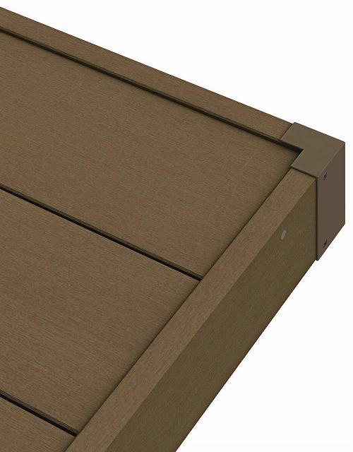 ↑リウッドデッキ 200 標準幕板/コーナーキャップ FF リウッドデッキ 200 標準幕板 段差なし:XGXX0431