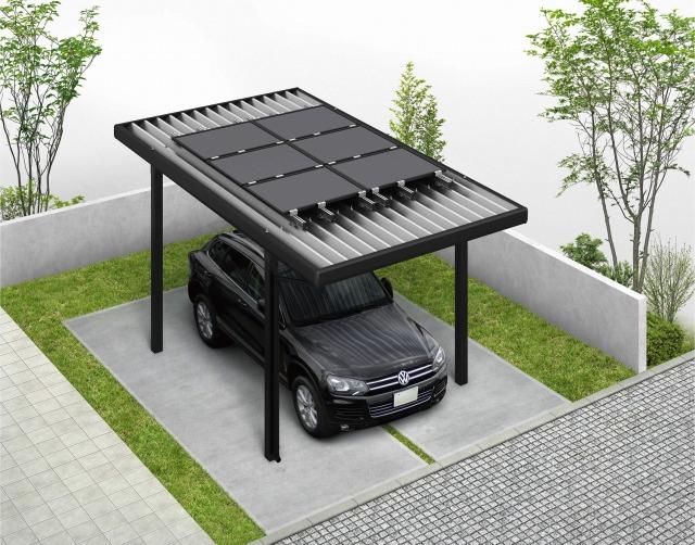↑レオンポートneoソーラーパネル搭載用 基本セット・1台用・ソーラーパネル6枚 B7_ソーラーパネル掲載用_XCB71300A