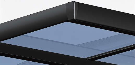 ↑スタンダードカーポートグランシリーズ共通 斜め切詰用ユニット説明 B7_B7カームブラック_XCXX0153