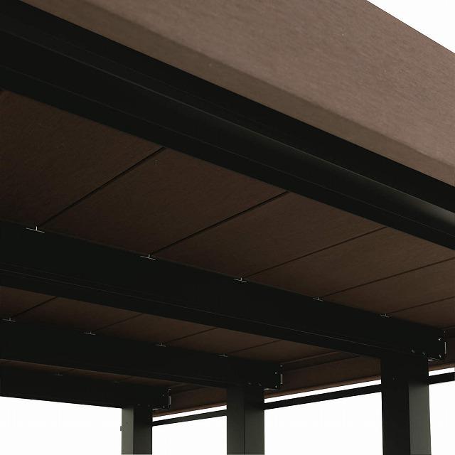 ↑リウッドデッキ 200 目地幅3mmの意匠美〈下部〉 FF 光が漏れない:XGXX0392