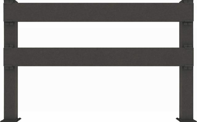 ↑リウッド デッキフェンス4型〈横パネル 12用 T80 FE_1263_XGFE0482