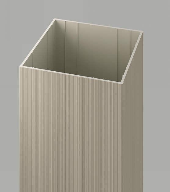 ↑ジーポートneo 角柱断面(小 120mm120mm H2_部分_XCXX0403