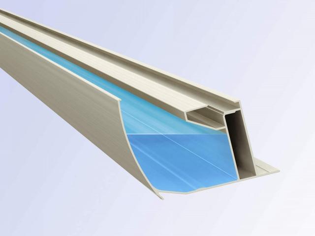 ↑レイナポートグラン 大容量の雨樋を採用 H2_部分_XCXX0582