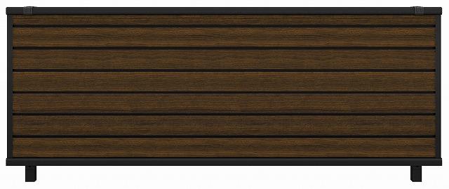 ↑ルシアス フェンス F02型 横目隠し T80 B7 Z9_商品単体外観_XFZ90445B7