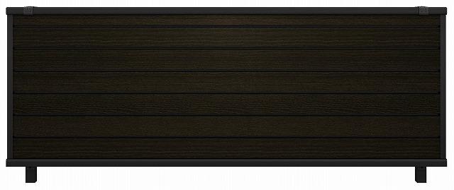 ↑ルシアス フェンス F02型 横目隠し T80 B7 W6_商品単体外観_XFW60445B7