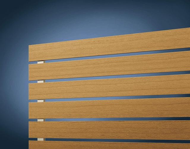 ↑ルシアス フェンス H02型 横板格子〈道路側 H2 W7_部分_XFXX0646W7