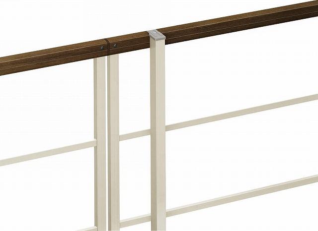 ↑ルシアス フェンス H05型F01型F04型 自由柱施工 自由柱〈家屋側 H2 Z9_部分_XFXX0620