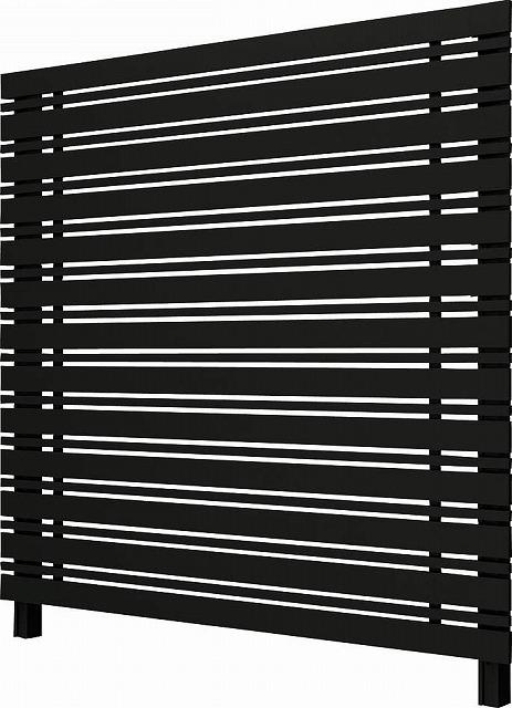 ↑ルシアス スクリーンフェンス S05型 横板格子細横格子 T200 B7__XFB70409