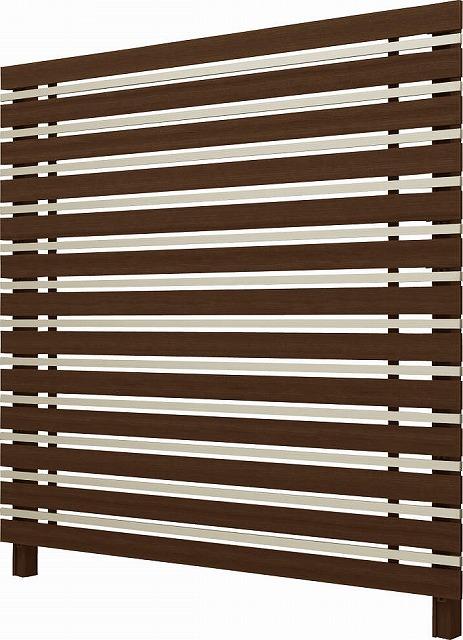 ↑ルシアス スクリーンフェンス S05型 横板格子細横格子 T200 Z9H2__XFZ90411H2