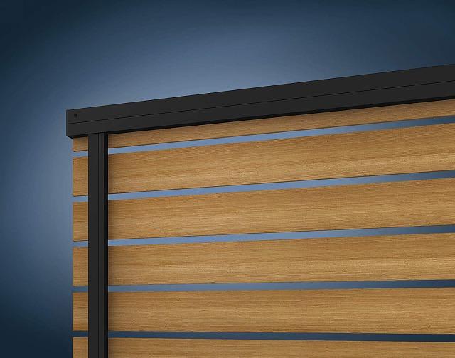 ↑ルシアス フェンス H07型 リブモール〈家屋側 B7 W7_部分_XFXX0660W7