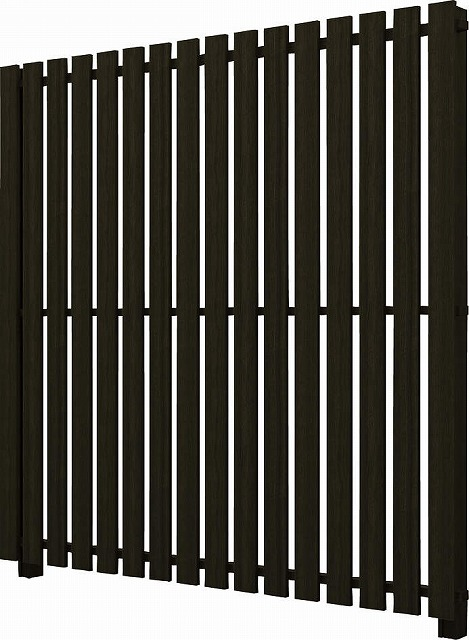 ↑ルシアス スクリーンフェンス S04型 たて板格子 T200 W6__XFW60405