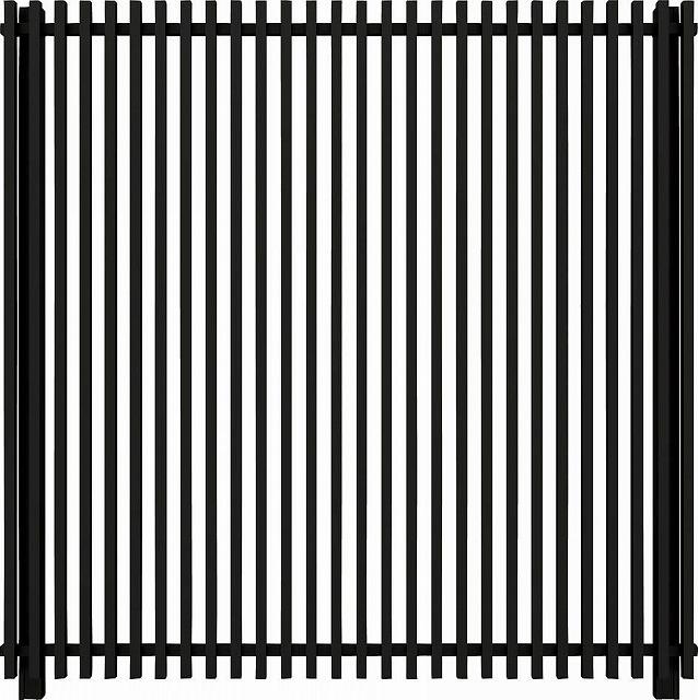 ↑ルシアス スクリーンフェンス S02型 たて格子 T200 B7__XFB70396