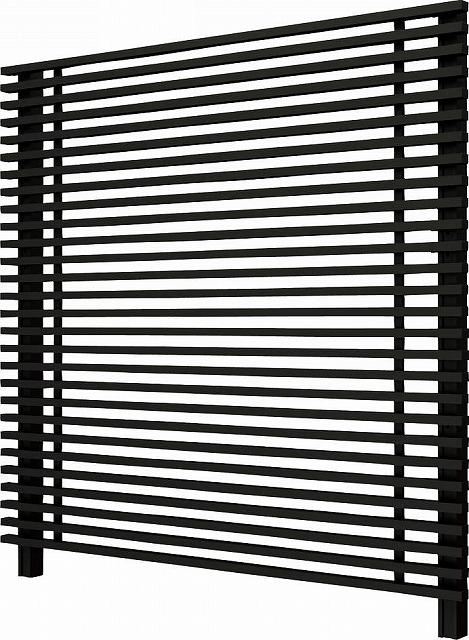 ↑ルシアス スクリーンフェンス S01型 細横格子 T200 B7__XFB70391