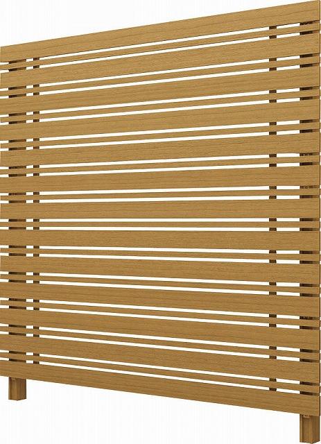 ↑ルシアス スクリーンフェンス S05型 横板格子細横格子 T200 W7__XFW70410