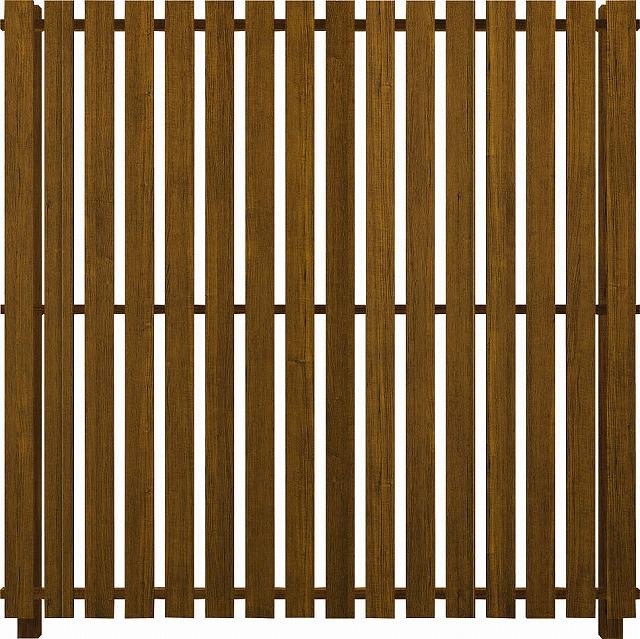 ↑ルシアス スクリーンフェンス S04型 たて板格子 T200 YF__XFYF0404