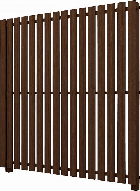 ↑ルシアス スクリーンフェンス S04型 たて板格子 T200 Z9__XFZ90405