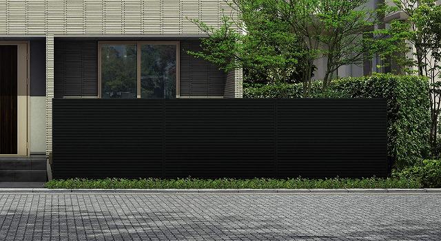 ↑ルシアス スクリーンフェンス R01型 横目隠し T160 B7_5925_XFSS0209B7