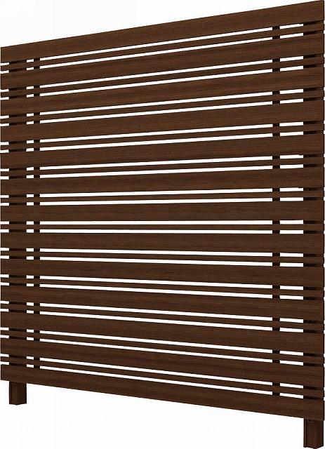 ↑ルシアス スクリーンフェンス S05型 横板格子細横格子 T200 Z9__XFZ90410