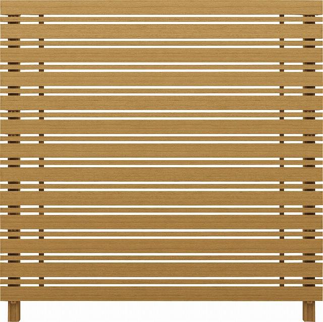 ↑ルシアス スクリーンフェンス S05型 横板格子細横格子 T200 W7__XFW70408