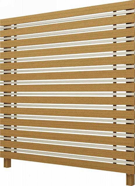 ↑ルシアス スクリーンフェンス S05型 横板格子細横格子 T200 W7H2__XFW70411H2