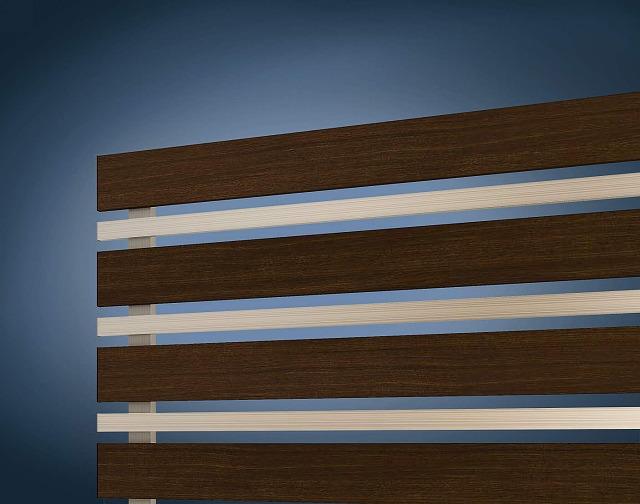 ↑ルシアス フェンス H03型 横板格子細横格子〈道路側 H2 Z9_部分_XFXX0655Z9