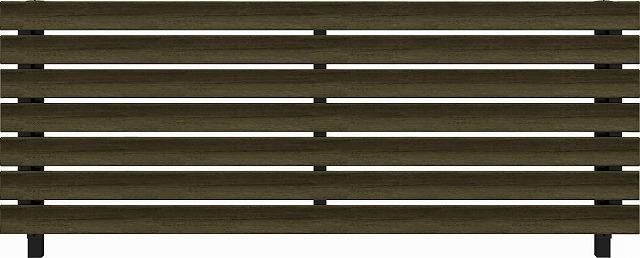 ↑ルシアス フェンス H07型 リブモール T80 B7 W6(自由柱施工_商品単体外観_XFW60460