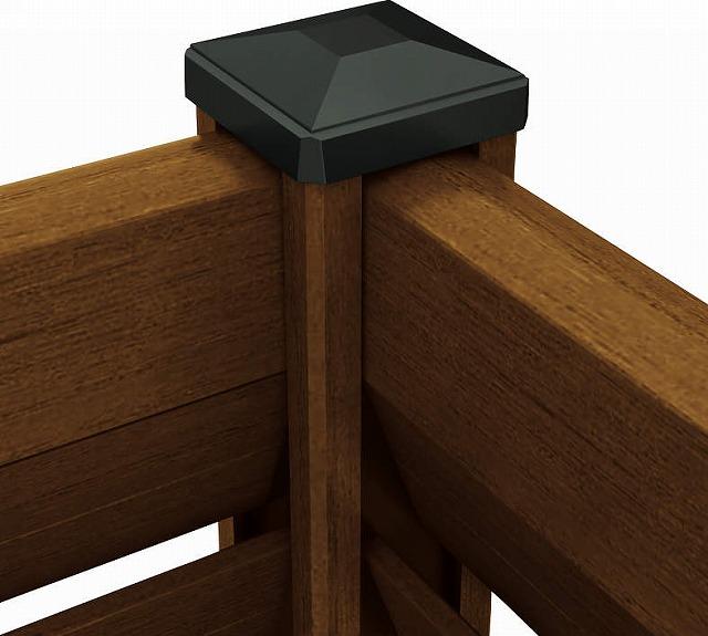 ↑ルシアス スクリーンフェンス R02型 90°専用角柱 YF__XFXX0596