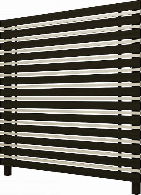 ↑ルシアス スクリーンフェンス S05型 横板格子細横格子 T200 W6H2__XFW60411H2