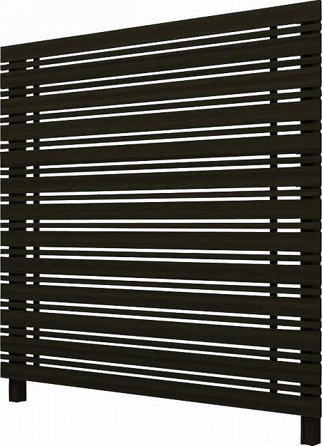 ↑ルシアス スクリーンフェンス S05型 横板格子細横格子 T200 W6__XFW60410