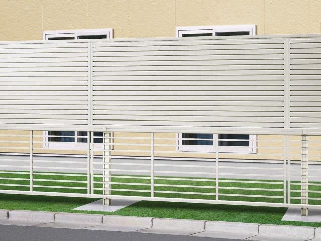 ↑2段支柱 T170(自立建て納まりYW(上:シンプレオ5型 T100 下:シンプレオ9型 T80_1735_XFYW0551