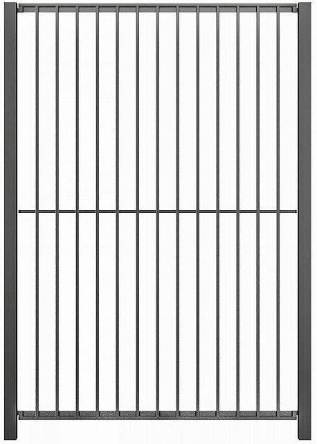 ↑シャローネ フェンス SM01型 間仕切柱 T180_商品単体外観_XFOA0484A