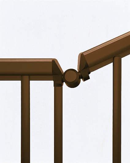 ↑シンプレオ フェンスTK型 〈傾斜地用 格子付き傾斜継手 B1__XFXX0754