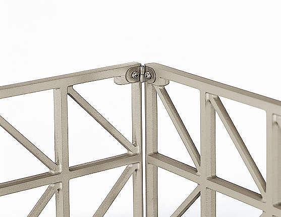 ↑シャローネ フェンス T60スライド自由柱施工(コーナー継手家屋側_部分_XFXX0670H2