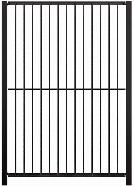 ↑シャローネ フェンス SM01型 間仕切柱 T180_商品単体外観_XFB70484A
