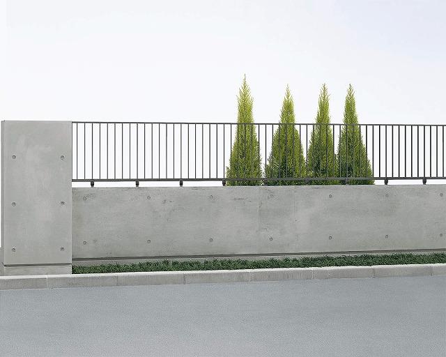 ↑シャローネ フェンス SS01型 スライド自由柱 T60_商品単体外観_XFOA0480