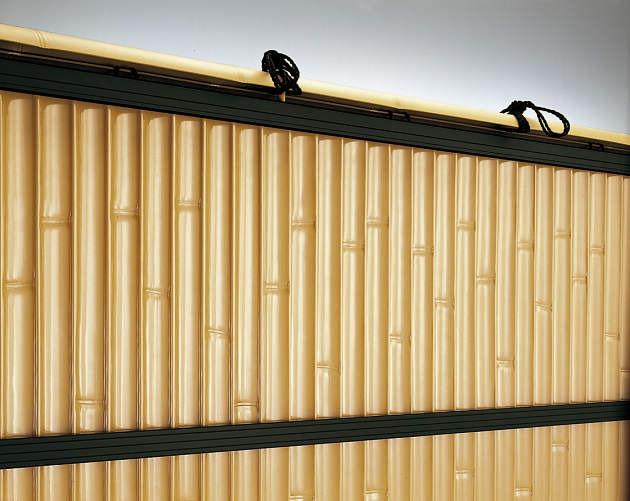 ↑竹垣風フェンス麗シリーズ 建仁寺垣〈片面タイプ 家屋側デザイン BT B7__XFXX0509